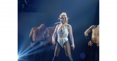 Britney Spears playing Apple Music Festival