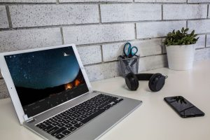 Brydge 12.9 aluminum keyboard for iPad Pro