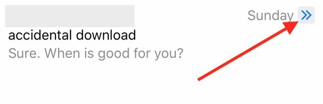 iOS 10 Mail Conversation Icon