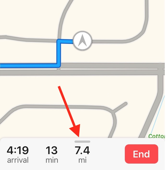 iOS 10 Maps Drawer