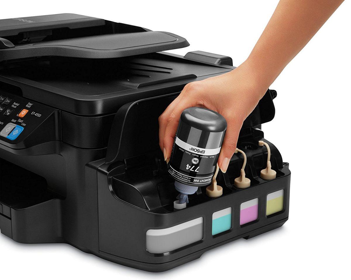 An Epson EcoTank printer like this one has saved me some dough…