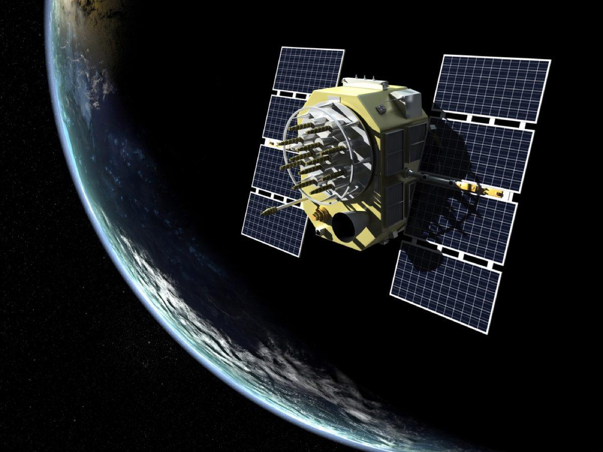 Global Positioning System (GPS) satellite