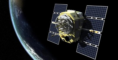 Rendering of GPS satellite