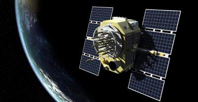 Rendering of GPS satellite