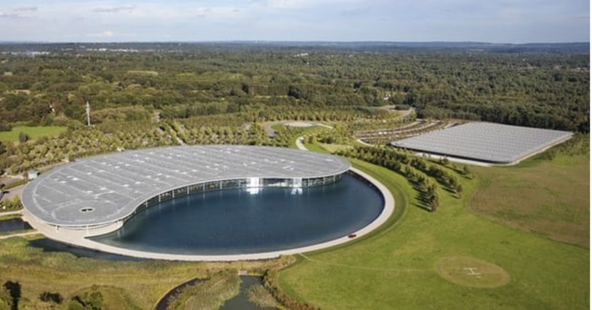 No Wonder McLaren's Technology Center Caught Apple's Eye