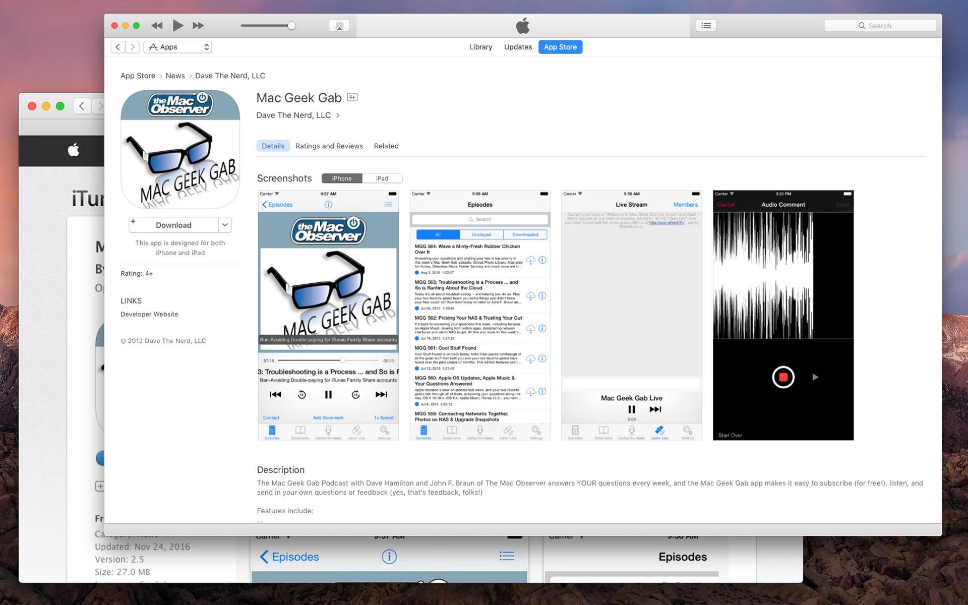 app store website itunes