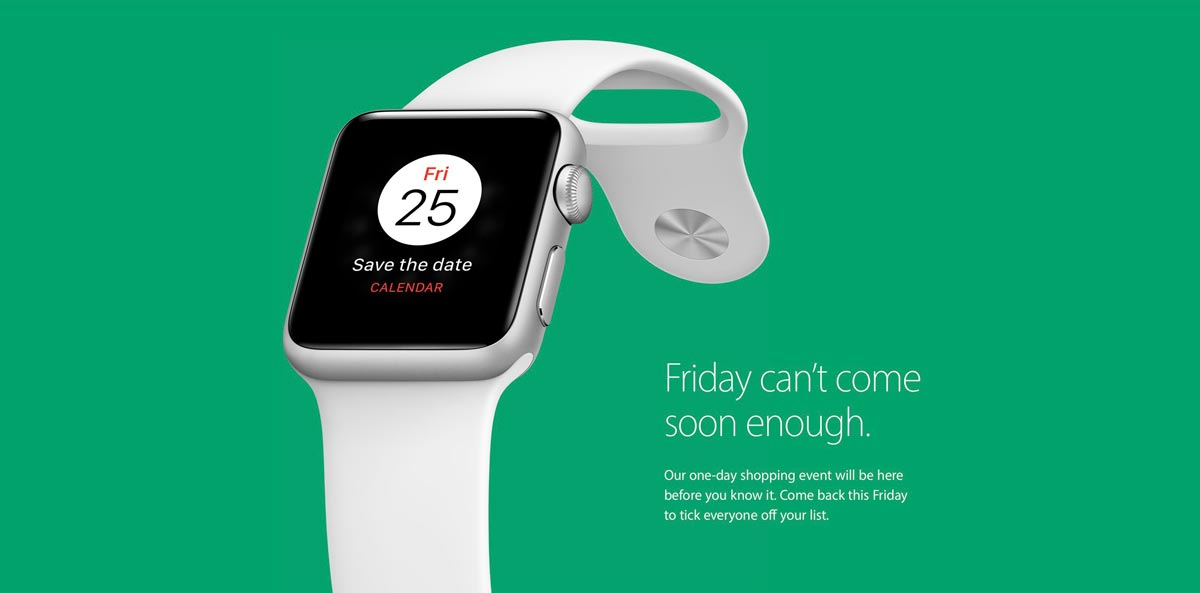 Apple Announces 2016 Black Friday Sale, No Details Available Yet