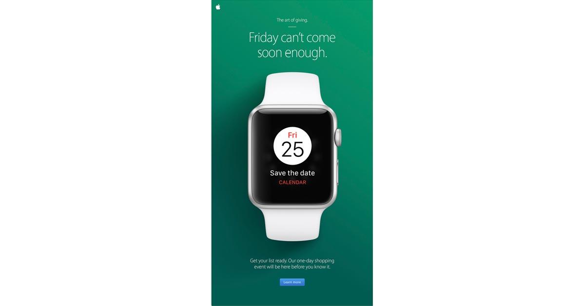 Black Friday 2016 Email Promo