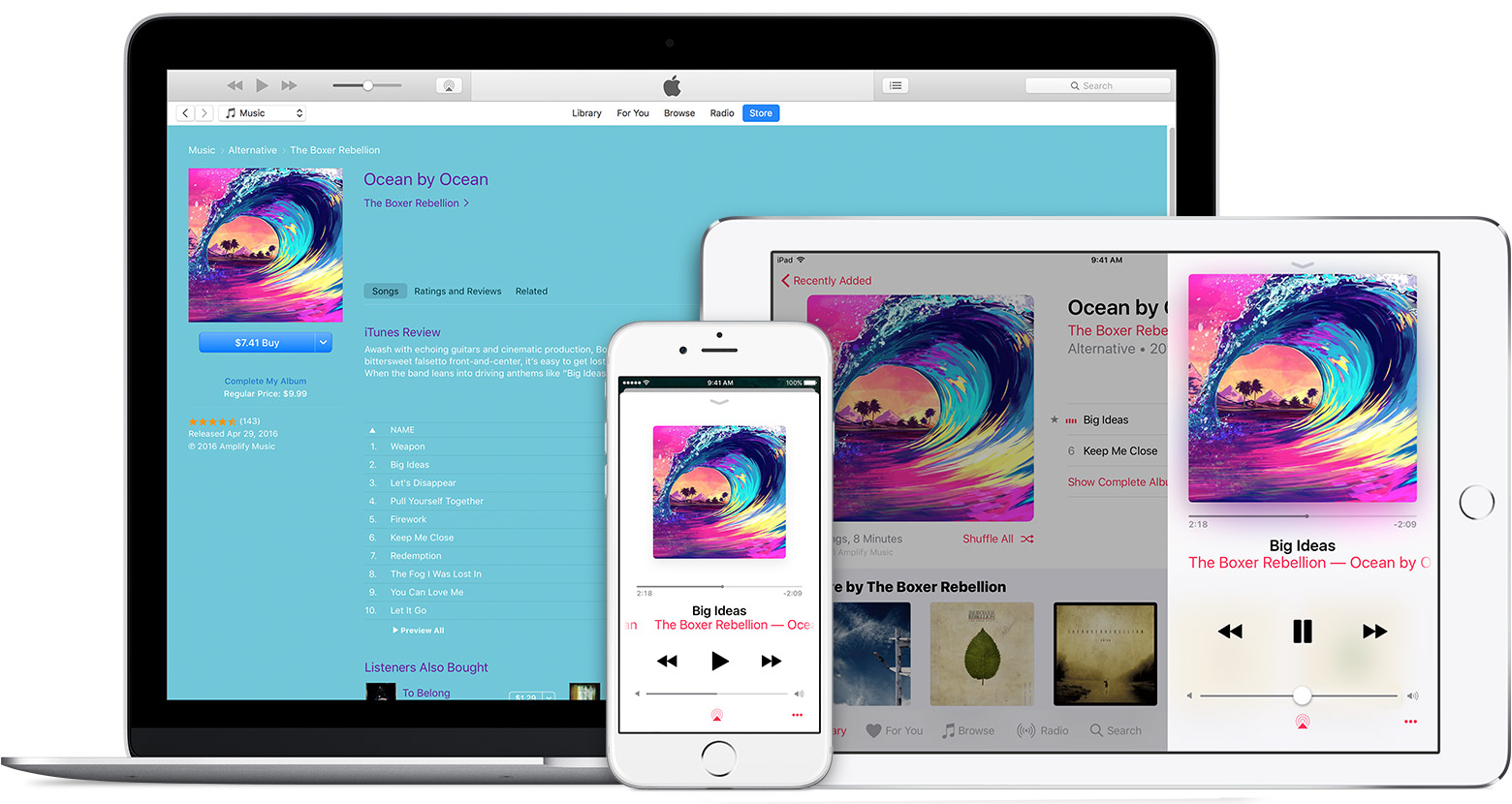 apple music devices