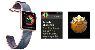 Apple Watch 5K Thanksgiving Challenge