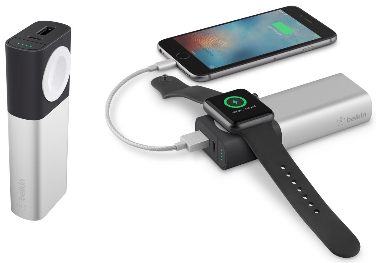 Belkin Valet Charger – Portable Charging for Apple Watch and iPhone