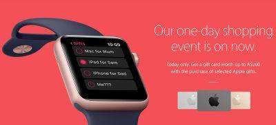 Apple Black Friday Promotion Banner