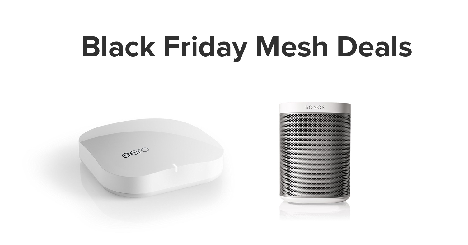 Picture of Eero and Sonos PLAY:1 for Black Friday 2016