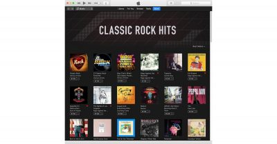 Classic Rock Album Sale on iTunes
