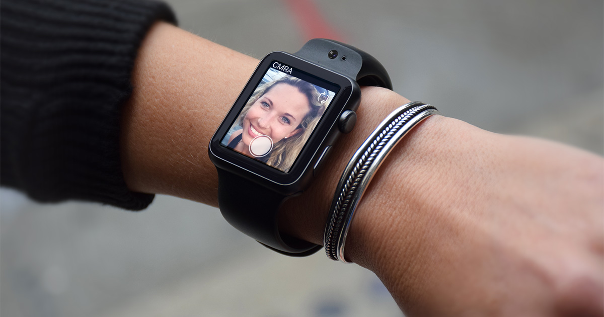 Glide CMRA Apple Watch camera band