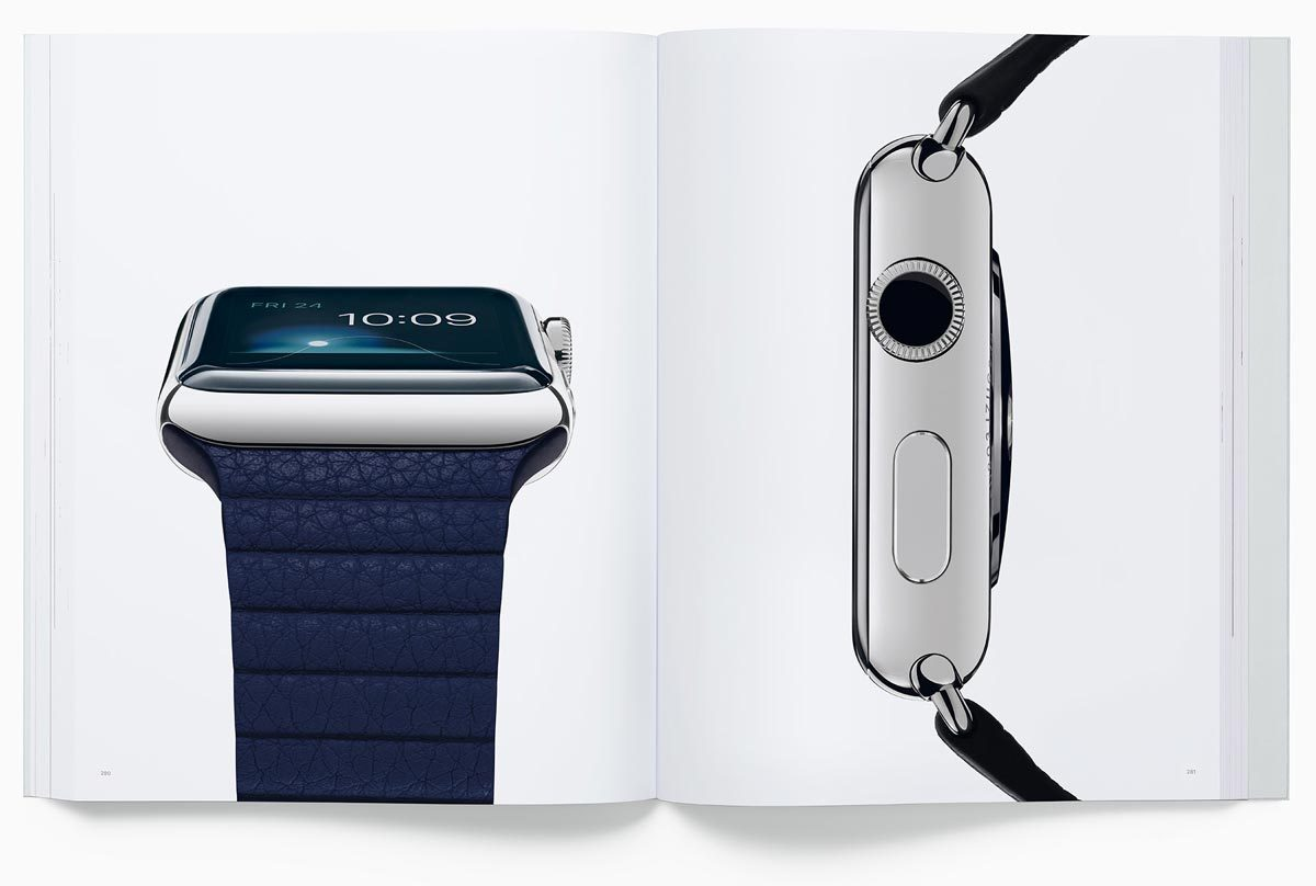 Page from Designed by Apple in California showing Apple Watch