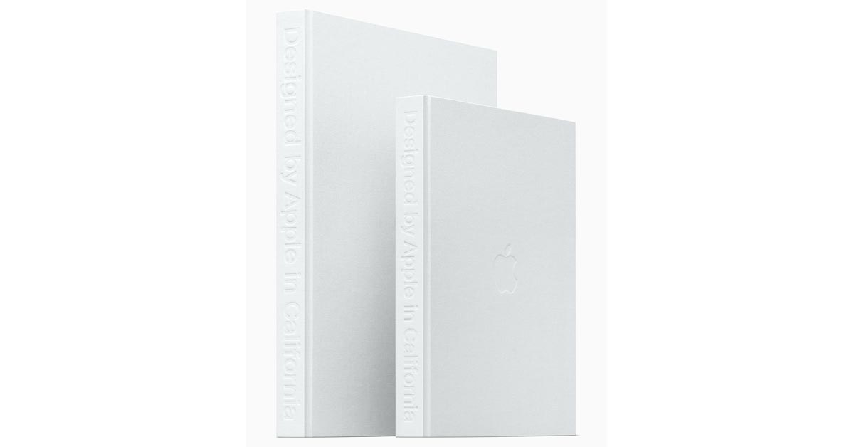 Appel's coffee-table book, Designed by Apple in California