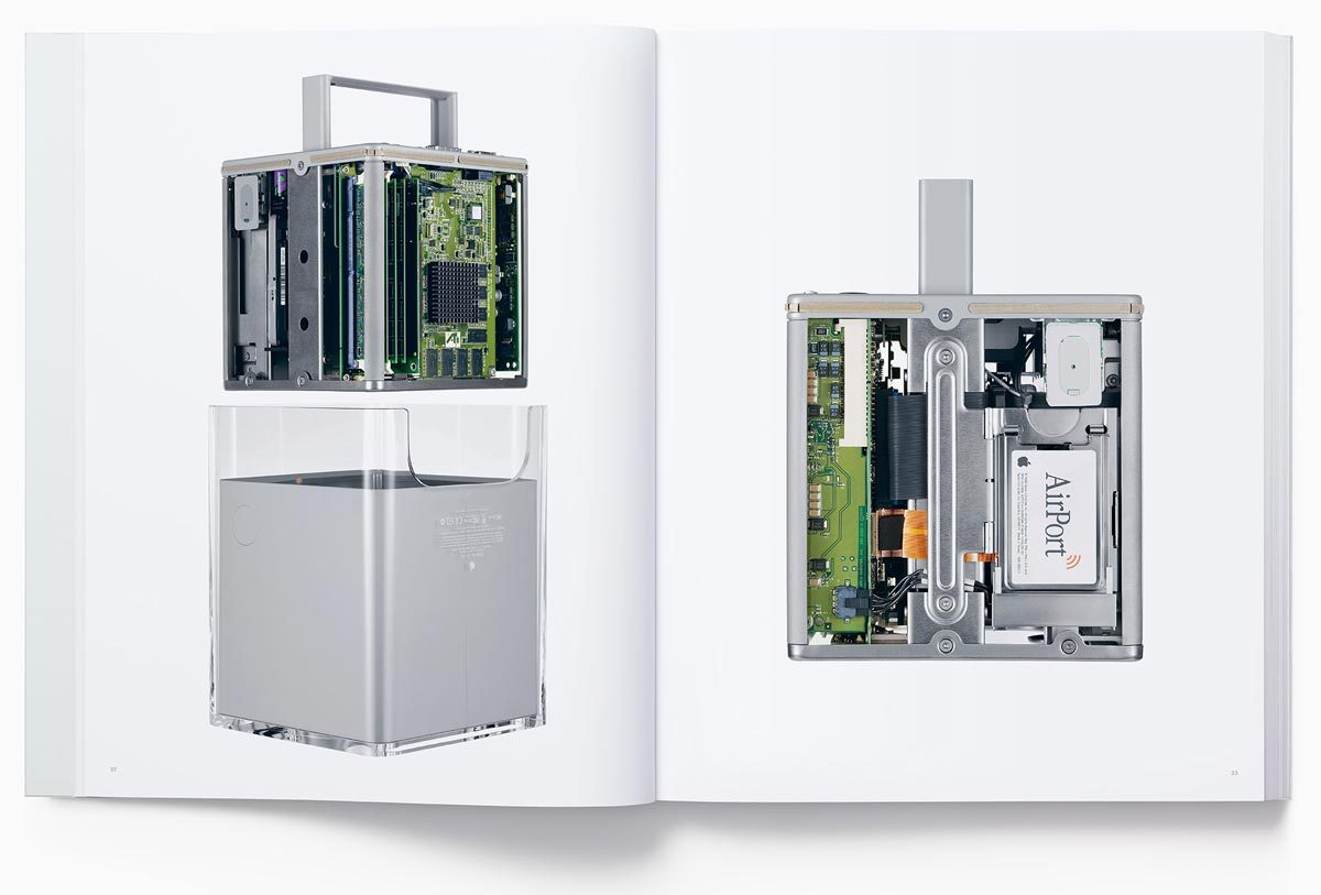 Page from Designed by Apple in California showing the Cube
