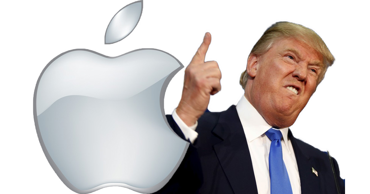 Donal Trump wants Tim Cook to make Apple factories in the United States