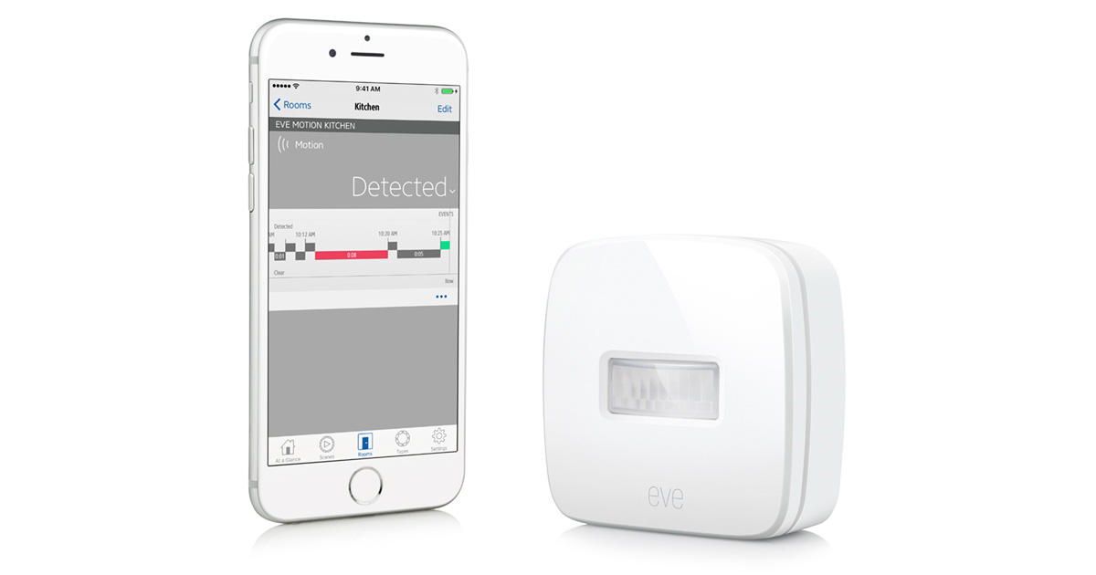 Elgato's Eve Motion Adds Motion Sensor Control to Your HomeKit Network