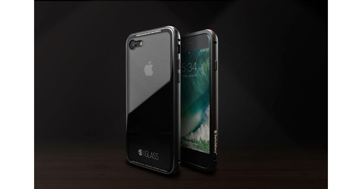 Glass iPhone Case Designed to Show Off Jet Black Finish