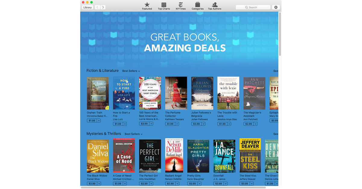 iBooks Has Loads of Books on Sale for Less than $4