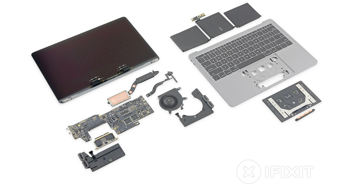 13inch Retina MacBook Pro tear down