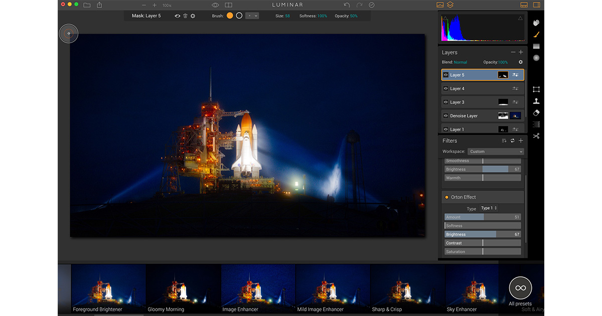 Luminar Brings Pro Image Editing to the Mac with an Adaptive Interface