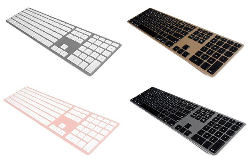 Matias Wireless Aluminum Keyboards
