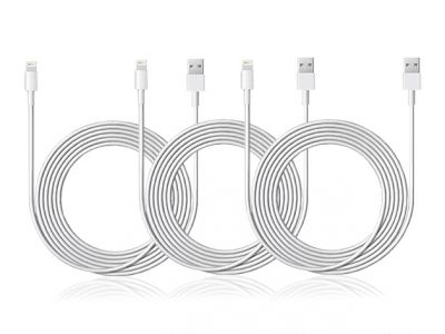 MFi-certified Lightning cable 3-pack