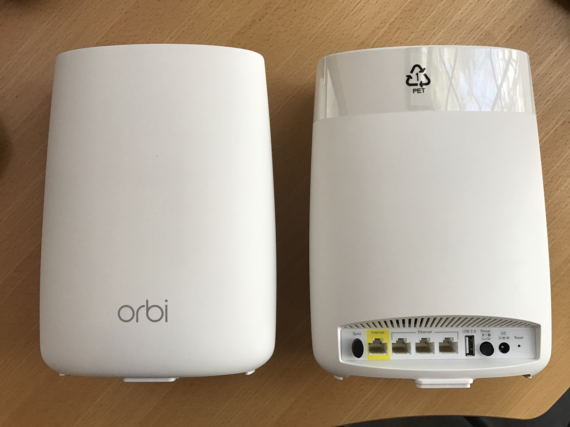 NETGEAR's Orbi has more ports than any other mesh Wi-Fi system we tested