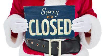 santa sorry were closed