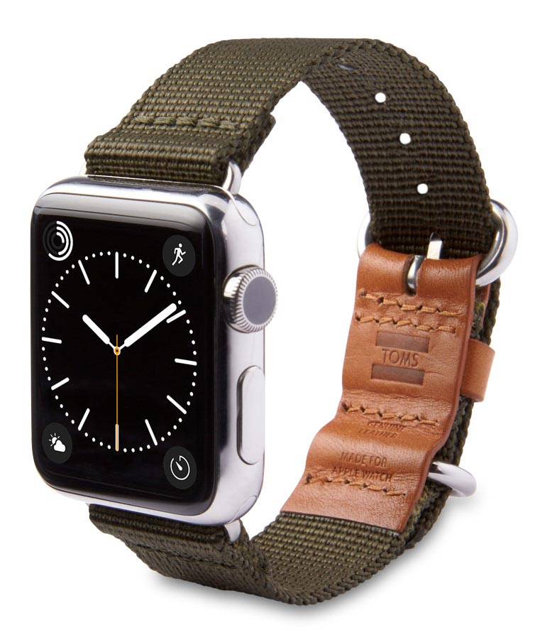 Apple Watch Strap from TOMS, Olive