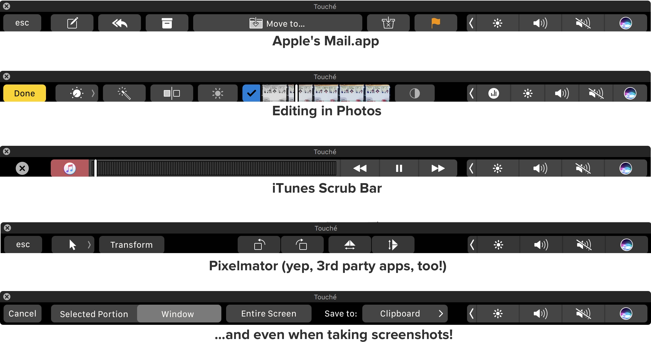 Touché: See and Use Touch Bar on Any Mac
