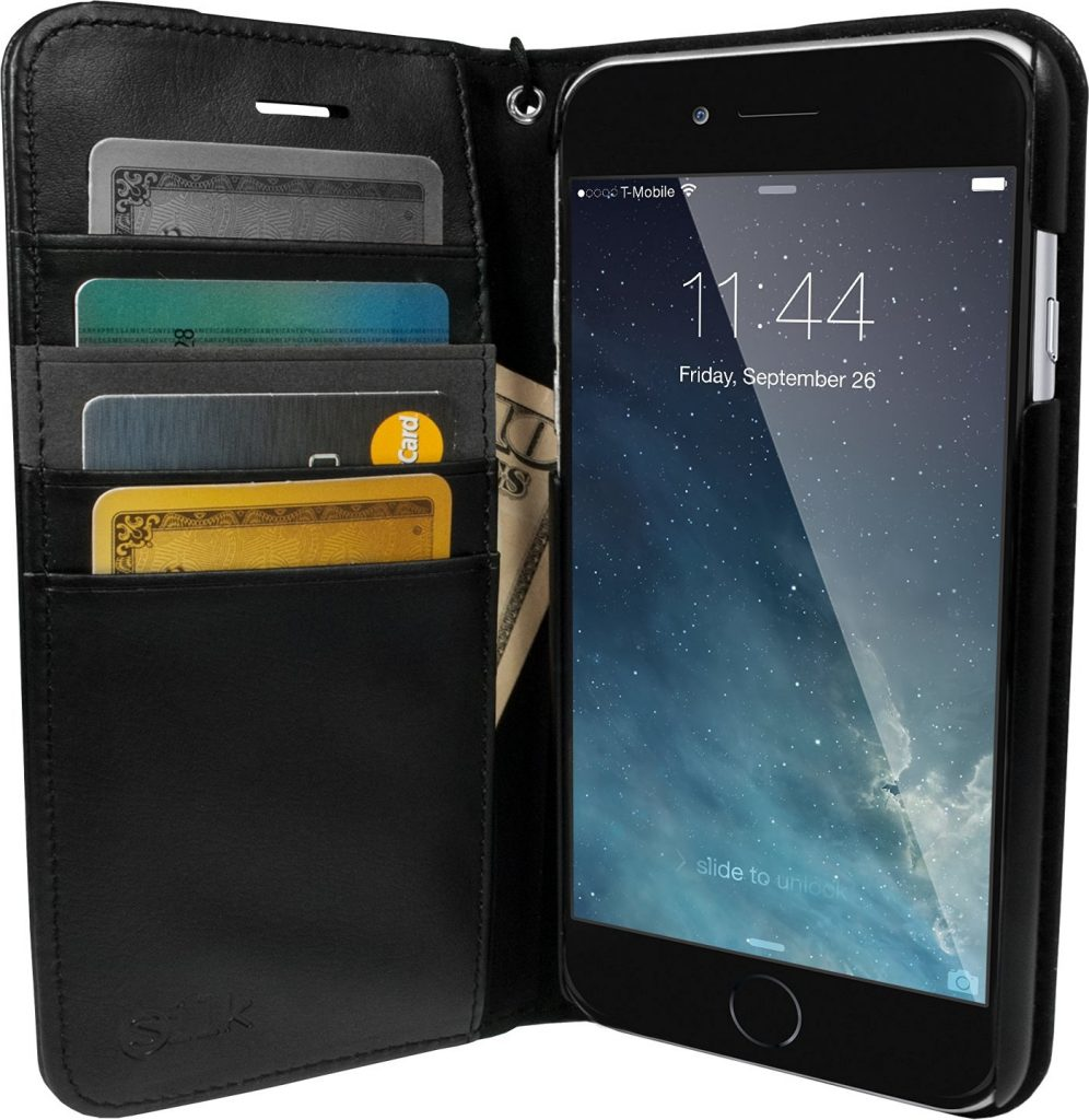Silk's Folio Wallet Case has more room for stuff than most at a price you can afford.