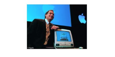 Steve Jobs at iMac intro