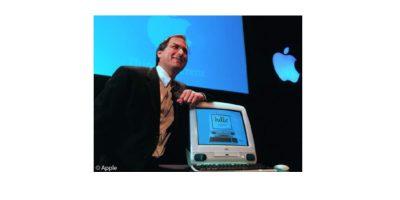 Steve Jobs at iMac intro