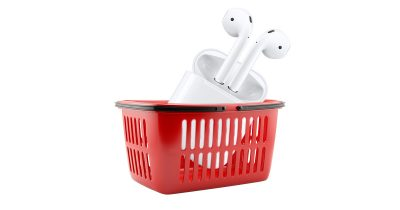 AirPods in Apple Stores on December 19