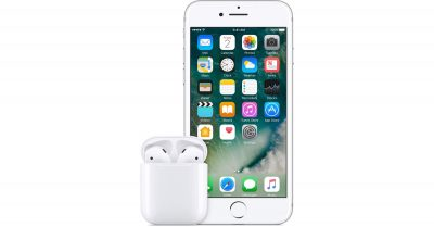 Apple AirPods with iPhone