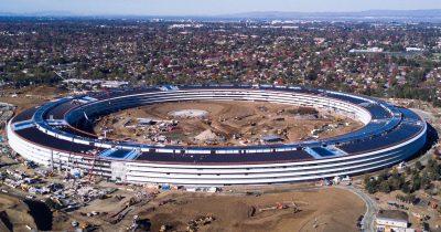 TMO Drone Shot of Apple Campus 2.0