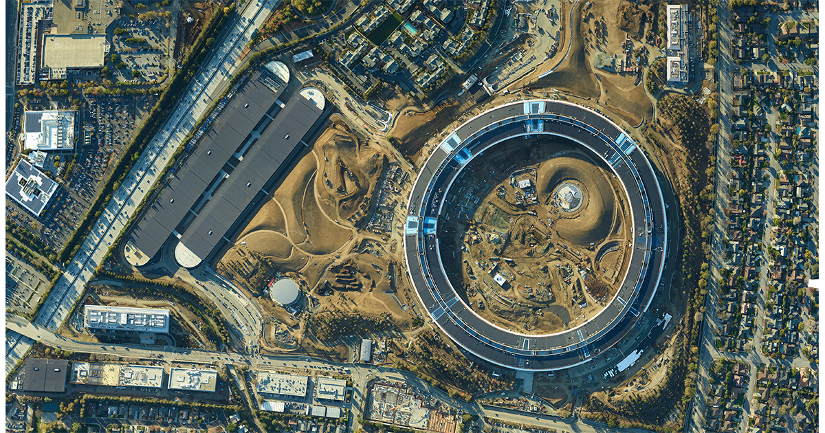 Check Out SkyIMD's 1.7-gigapixel Apple Campus 2 Image