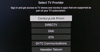 Apple TV single sign-on goes live for Apple TV