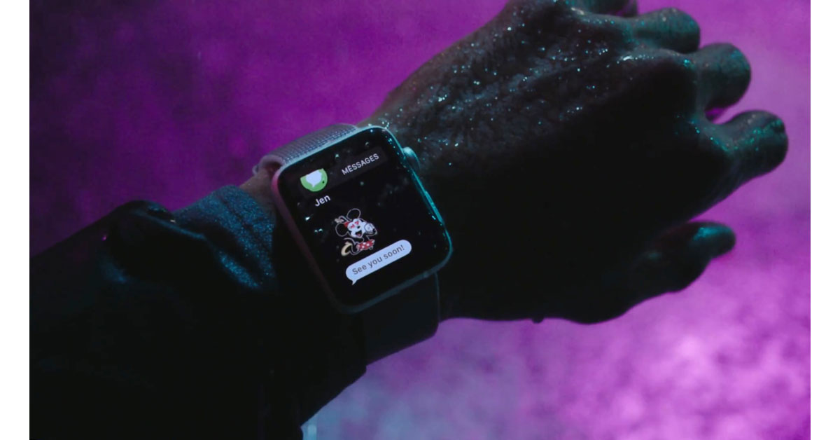 Screenshot from Apple Watch Series 2 - Go Out