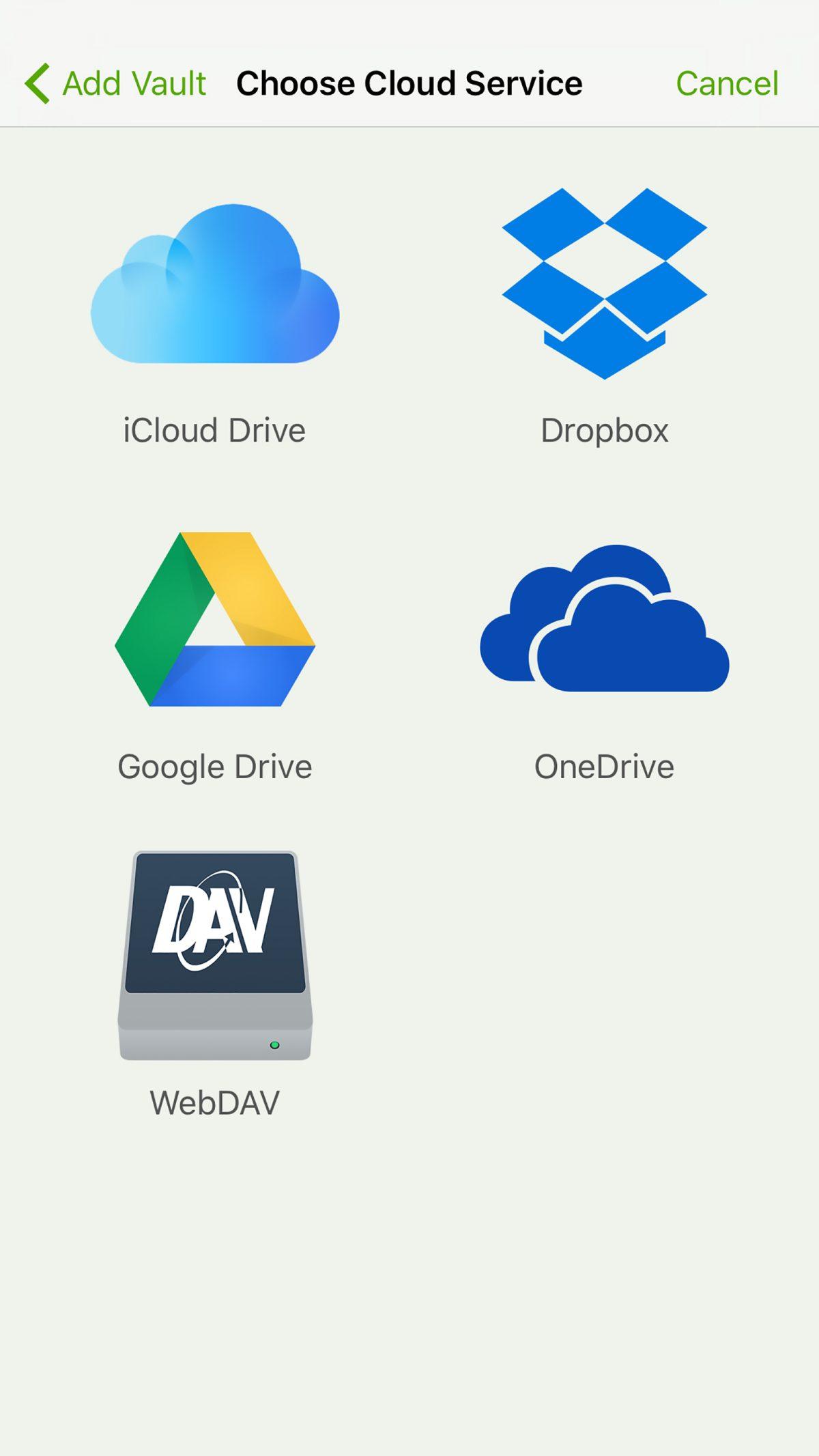 Cryptomator cloud service
