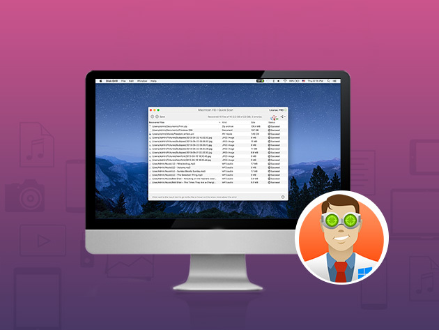 Disk Drill PRO 3 for Mac: $34.99