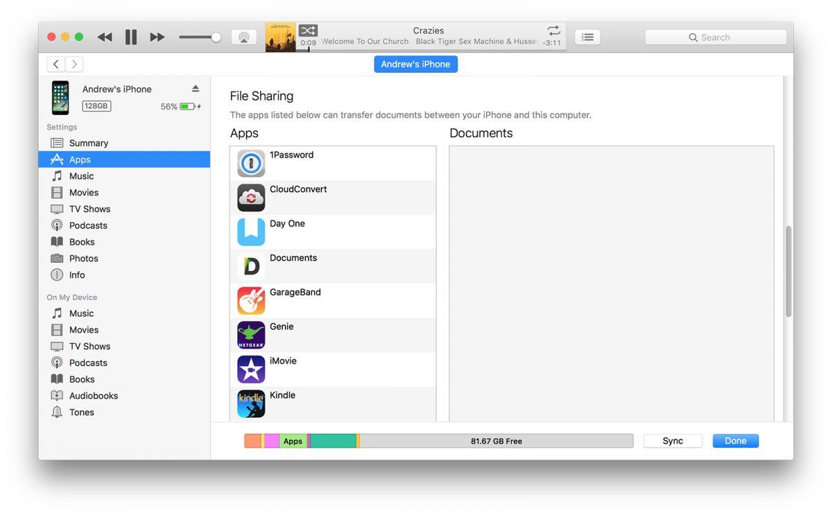 file transfer app list