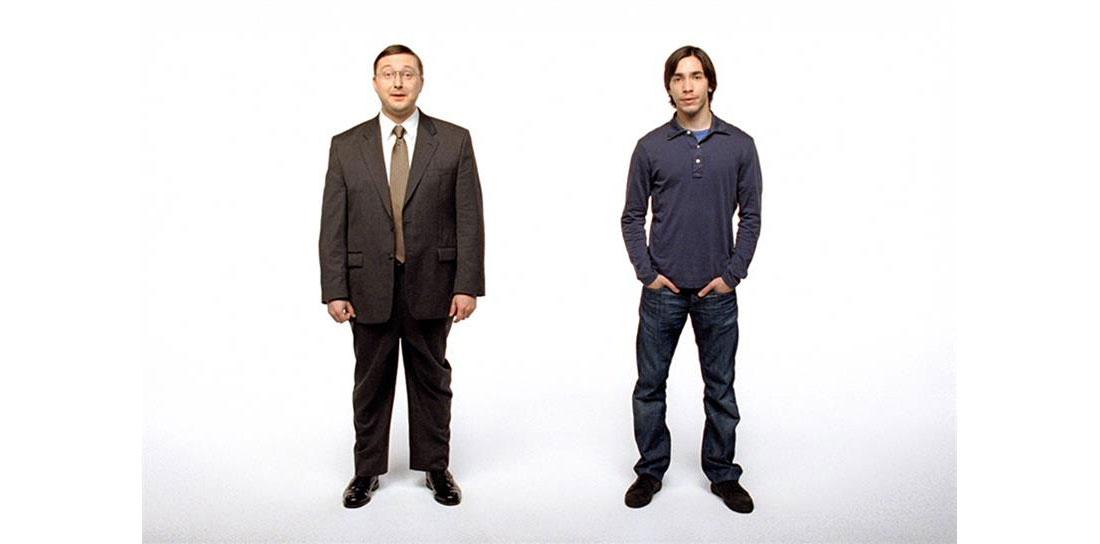 Get a Mac Promo Shot with John Hodgman and Justing Long