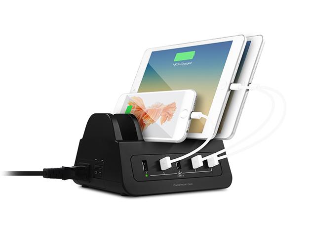 GorillaPower 5-Port USB & Power Dock: $59.99