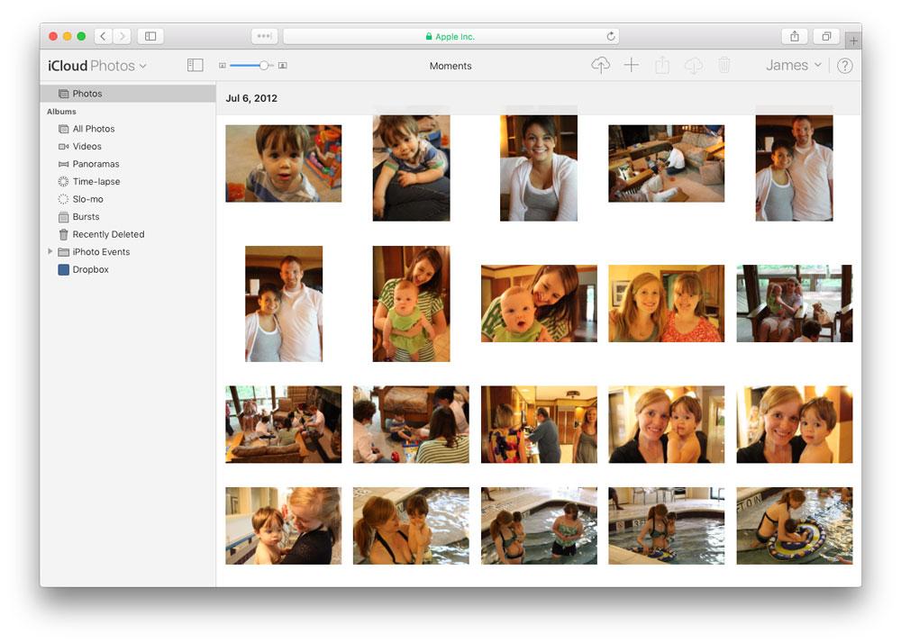 icloud photos beta