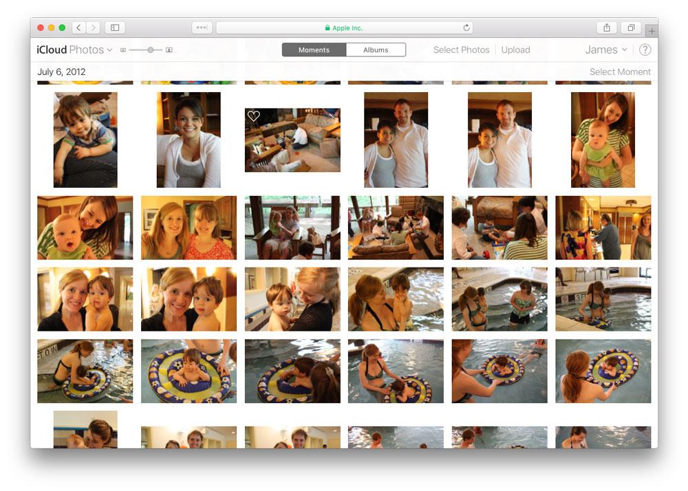 icloud photos public